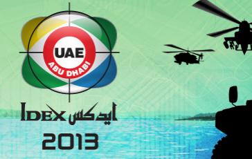 IDEX exhibition in Abu Dhabi